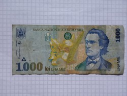 Románia 1000 Lei 1998 !!