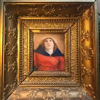 Osztrák festő, XIX. sz.: Mária