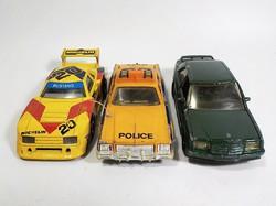 Matchbox Kings rendőrautó , Mustang , Mercedes autó