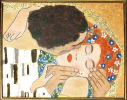 Moona - Csók KLIMT festménye után