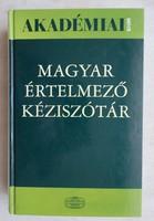 MAGYAR ÉRTELMEZŐ KÉZISZÓTÁR (Főszerkesztő:Pusztai Ferenc)