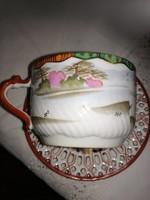 Keleti csésze alátéttel