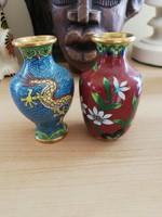 Rekeszzománc kicsi  vázák