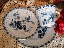 Antik fajansz  Villeroy&Boch reggeliző szett