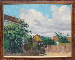 Hénel Gusztáv: Felhős kert