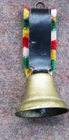 Rezezett vas csengő eladó, átmérő 60 mm, 45 mm dísz nékül