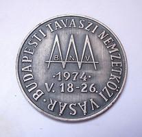 HUNGEXPO Budapest 1974 emlékérem.