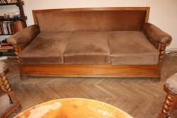 Historizáló ülőgarnitúra, 2 db fotel, 1 db kanapé