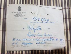 Dr Vitéz Szűcs Dezső ügyvéd, tartalom nélkül