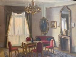 Enteriőr szoba belső