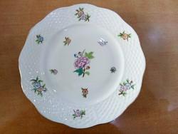 Herendi Eton csemege tányér hibátlan állapotban, régi herendi jelzéssel, 19 cm-es