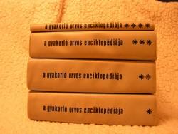 TRENCSÉNI  TIBOR  :  A gyakorló orvos enciklopédiája  I - II - III - IV kötet.