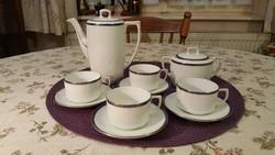 Négy személyes, antik MZ Altrohlau kávéskészlet (1918-1939). / Antique MZ Altrohlau coffe set