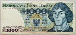 Lengyelország 1000 Zloty 1975
