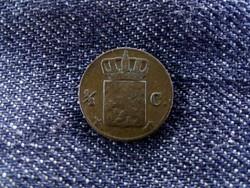 Ritka holland fél cent 1847/id 6038/