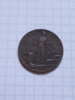 Ritka , és szép 5  Cent Olaszország  1918 !!