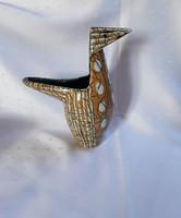 Retro madár formájú iparművészeti váza / 2216