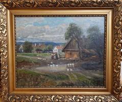 Újváry Ferenc / Falusi házak