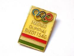 Magyar Olimpiai Bizottság jelvény