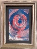 Damien Hirst világhírű külföldi művész alkotása: Spin festés