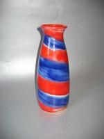 Különleges art deco váza (Lux Elek)