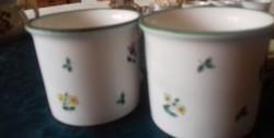 2 db gmundner teás csésze  7 x 9.5 cm