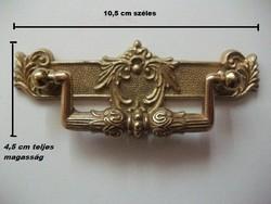 Elegáns aranyszínű antik stílusú bútor fogantyú- ÚJ