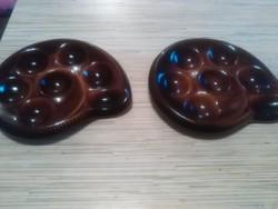 Francia porcelán kínáló tányérok