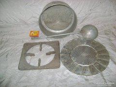 Három darab régi alu konyhaeszköz