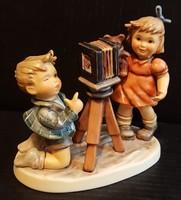Hummel fotós kisfiú és modellje, 14,5 cm
