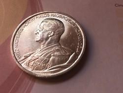 1939 Horthy ezüst 5 pengő,gyönyörű darab