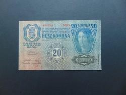 20 korona 1913 Szép ropogós bankjegy  02