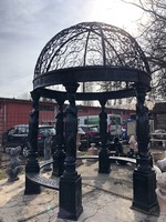 Öntött vas kupolás pavilon