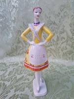 Hollóházi Bujáki táncos 24 cm
