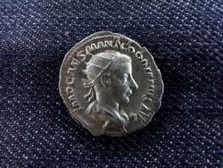 III. Gordianus ezüst Antoninianus AEQVITAS AVG 240/id 6076/