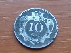 AUSZTRIA OSZTRÁK 10 HELLER 1895