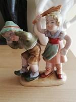 Bertram páros, verekedő gyerekek