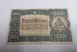 """10 000 korona 1923, """"ORELL FÜSSLI ZÜRICH"""" ."""