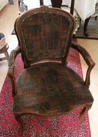Antik fotel az 1900-as évek elejéről