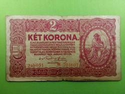 2 Korona 1920 - csillagos sorszám/id 3819/
