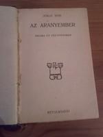 Antik könyv - Jókai Mór  Az aranyember  Dráma öt felvonásban - Révai kiadás