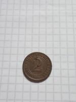 """2 Pfennig 1924 """"A"""" !"""