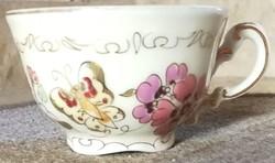 2 db Zsolnay porcelán kávéscsésze