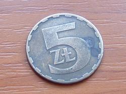 LENGYEL 5 ZLOTY 1983