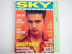 Sky magazin 1992/1 Jason Priestley Sean Penn Curve U2 S. Bernhard Charlatans