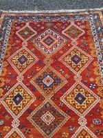 Antik kézi csomózású Nomád Perzsa szőnyeg