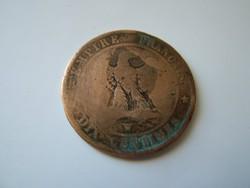 Dix Centimes III. Napoleon 1856 W RR!