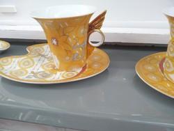 Porcelán ,teás csésze kistányérral