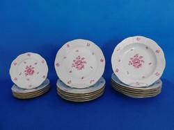 Herendi Nanking bouquet 6sz 18 db tányér Garnitúra