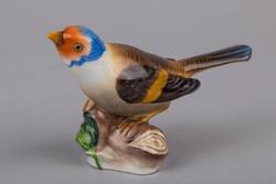 Herendi madár faágon figura
